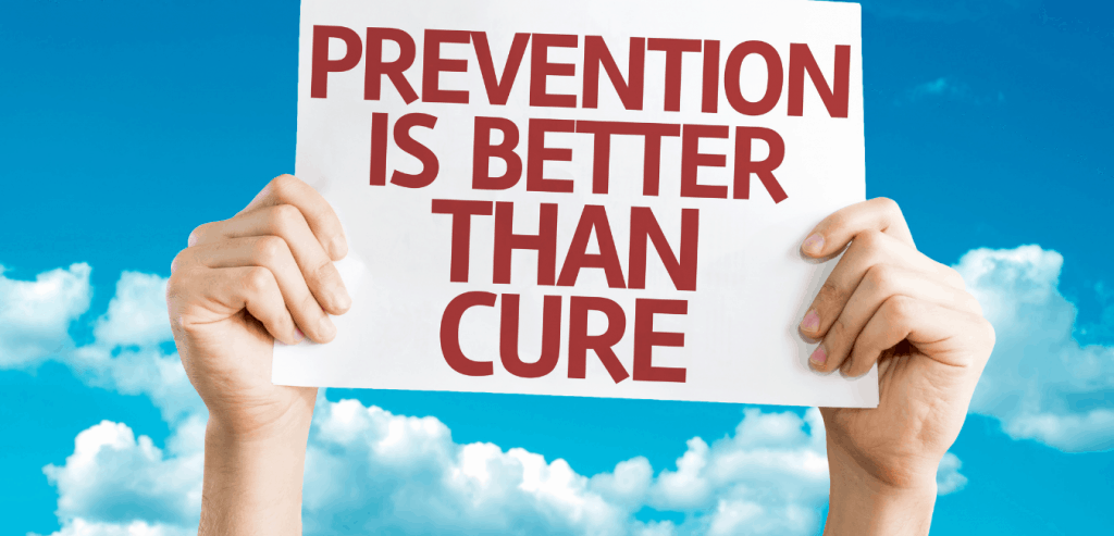 Prevention Is Better Than Cure=protective hygiene
