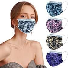 3ply lace surgical masks
